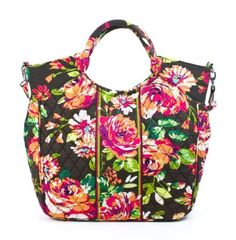 Vera Bradley Two Way Tote English Rose >>> Details can be found by clicking on the image.