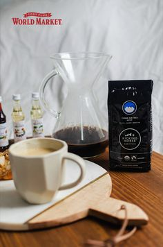 Know someone that can't function without their daily cup? Find a gift they'll love with the help of @magicinsalemour. #worldmarket #gifts Three Sisters, Coffee Lover Gifts, World Market, Food Gifts, French Press, Gift Baskets, Stocking Stuffers, Gift Guide, The Help