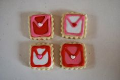 Edible valentine's love letters, make them today