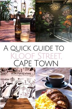 Heading to Cape Town & looking for one of the hippest area in town? A guide for the best Kloof Street restaurants, where to sleep & have a glass of wine. Where to eat in Cape Town Tapas Menu, Best Sushi, Outdoor Restaurant, Food Tasting, Breakfast On The Go, The Beautiful Country, Cape Town, Fine Dining, Street Food