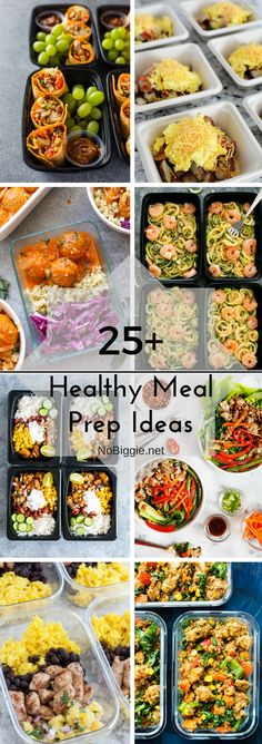 meal prep plans A great way to plan for success with your diet is to meal prep! Here's Healthy Meal Prep Ideas. Healthy eating can be so hard, especially when you're away from home. Clean Eating Recipes, Clean Eating Snacks, Lunch Recipes, Diet Recipes, Healthy Snacks, Healthy Recipes, Healthy Nutrition, Meal Planning Recipes, Healthy Eating Plans