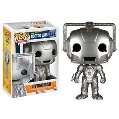 Doctor Who POP Cyberman Vinyl Figure