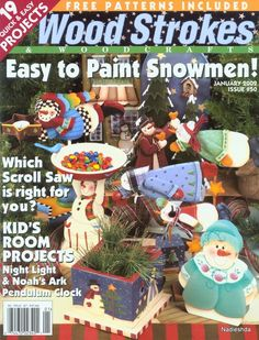 Wood Strokes 2002 - Nadieshda N - Picasa Web… Christmas Yard Art, Christmas Yard Decorations, Christmas Ornaments To Make, Christmas Books, Christmas Crafts, Christmas Ideas, Arts And Crafts Movement, Tole Painting, Painting On Wood
