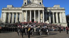Portsmouth Guildhall Remembrance Service
