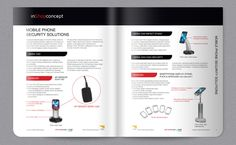 catalogue Security Solutions, Catalog, Phone, Design, Telephone, Brochures, Mobile Phones