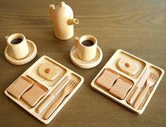 Wooden Toy Breakfast
