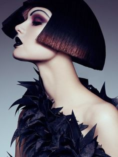 Danny Cardozo and stylist Danny Santiago team up for a gothic glam beauty story