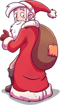 #Santa #Rufus is in town! #christmas #daedalicschristmas #merchandise #games# videogames #deponia