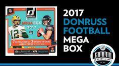 2017 Donruss Mega Box - 7 Retail Packs + 3 HOBBY Packs