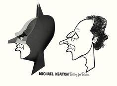 Michael Keaton - Jonas Bergstrand