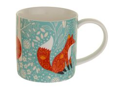 Ulster Weavers Foraging Fox Straight Sided Mug for sale online Cute Mug, Mugs For Sale, China Mugs, Mug Cup, Decoration, Tea Towels, Reuse, Diy Design, House Warming