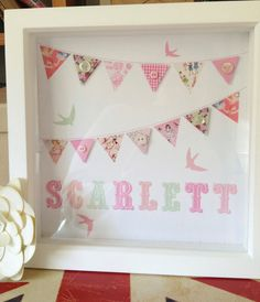 Handmade personalised pictures perfect for New by Rubycampion, £35.00