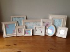 shabby chic vintage photo picture frames wedding plan display laura ashley paper