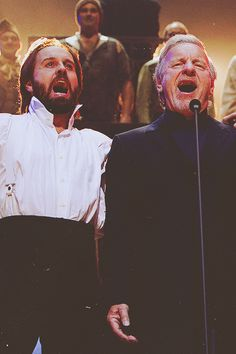 Alfie Boe & Colm Wilkinson at the 25th Anniversary Concert of Les Misérables