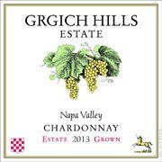 "Grgich Hills Chardonnay 2013 from Napa Valley, California - Miljenko ""Mike"" Grgich has been called ""The King of Chardonnay"" since the winery began in 1977, and you can taste why in ..."
