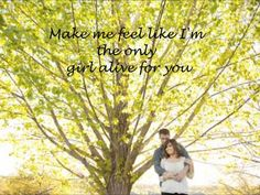 ▶ Look At Me Carrie Underwood Lyrics - YouTube. Song to walk down the isle too or first dance!