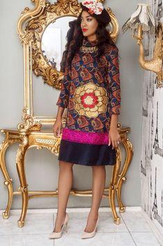 Revamp by Peaceful Owoghiri Collection ~African fashion, Ankara, kitenge, African women dresses, African prints, Braids, Nigerian wedding, Ghanaian fashion, African wedding ~DKK