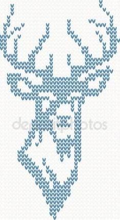 Cross Stitch Animals, Cross Stitch Kits, Counted Cross Stitch Patterns, Cross Stitch Designs, Cross Stitch Embroidery, Hand Embroidery, Fair Isle Knitting Patterns, Knitting Charts, Crochet Chart