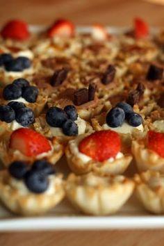 Best Dessert Recipes How To Make Mini Tarts