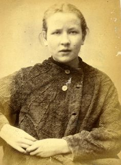 Seventeen-year-old Catherine Kelly was found guily of stealing bed linen and was sent to prison for three months. Mug Shots Of Criminals In The John Taylor, Criminal Shows, Old Photos, Vintage Photos, Vintage Photographs, Master Suite, Ned Kelly, Ikea, Henry Miller