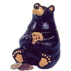 Black Bear Cookie Jar
