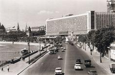 Гостиница Россия 1960-е  Старая Москва Наума Грановского