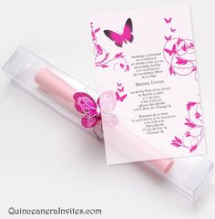 29 Best Invitations For Quinceanera Images Invitations Quince
