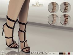 The Sims Resource: Madlen San Severo Shoes by MJ95 • Sims 4 Downloads