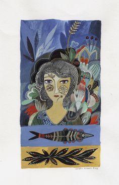 Aurélia Fronty - Comme un rêve | Oeuvres | Galerie Robillard