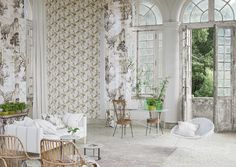 Designers Guild Winter Palace design in fabric and wallpaper