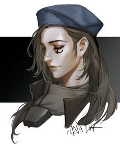 Young Ana Overwatch portrait by LSR