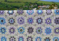 Mabel Blanket Afghan PDF Crochet Pattern