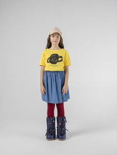 Stars Flared Skirt from Bobo Choses We Cosmos collection. This woven cotton skirt has a classic wide circle skirt shape and features a hand drawn all Cotton Skirt, Star Print, Flare Skirt, Kids Fashion, How To Draw Hands, Shirt Dress, Baby, Skirts, Clothes
