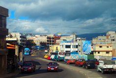 Leaving Latacunga