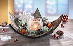 Teelichthalter-Set mit Holzstern, 11-teilig | weltbild.de