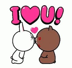The perfect BrownAndCony Cuddle Love Animated GIF for your conversation. Cute Cartoon Images, Cute Couple Cartoon, Cute Love Pictures, Cute Love Gif, Cute Love Cartoons, Love Kiss, I Love You Gifs, I Love You Hubby, My Love