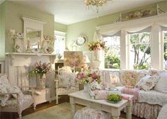 Shabby English Cottage, from Miss Bee's Haven