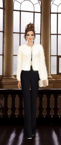 Covet Fashion, I Love Fashion, Fashion Art, New Fashion, Fashion Illustrations, Fashion Sketches, Cool Cartoons, Female Images, Fashion Games
