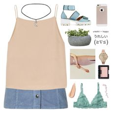 """""""OH, MISS SUGAR PINK"""" by wi-fi-li-fe ❤ liked on Polyvore featuring Topshop, T By Alexander Wang, Jeffrey Campbell, Monki, Campania International, Olivia Burton, NARS Cosmetics, women's clothing, women and female"""
