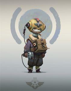 ArtStation - RadioOwl, Aleksandr Nikonov