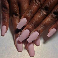 Matte, Pale Pink