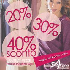 SCONTI dal 20% al 40% Pigiami donna e Camicie da notte: Visita la vetrina Saldi >> in promozioni tanti modelli di pigiama ponchi e camicie da notte Ultime taglie! http://ift.tt/2wOjcZs #saldi #sconto #promozione #ultime #taglie #pigiama #donna #promo