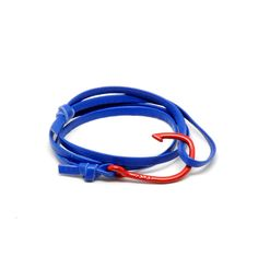 Red Hook on Blue Leather Miansai by Michael Saiger $68