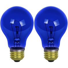 Sunlite Incandescent Medium Based, Colored Bulb, Transparent Blue, Carded N/A Lumens 2000 Hours Average Lamp Life Medium Base