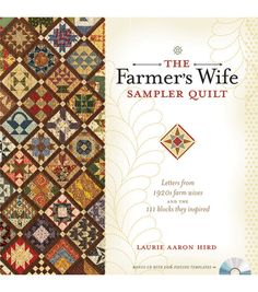 Krause-The Farmers Wife Sampler Quilt book.  Yes, please!