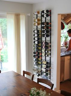 Look!: VintageView Racks Transform The Dining Room | Apartment Therapy