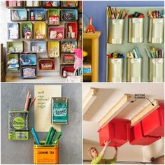 Here is a great list of 25 totally clever storage tips and tricks that you can use in your home. I have already creating quite a few sections of shelving in my home based on a couple of these tricks I have read. 25 Totally Clever Storage Tips and Tricks