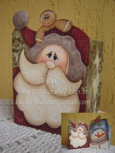 Cachepô Noel by Vanessa Taconelli, via Flickr