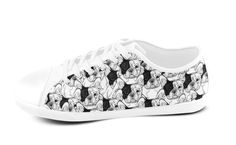 Limited Edition French Bulldog shoes.