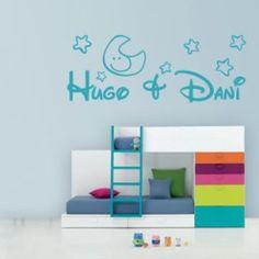 vinilos Vinilos Nombres Hugo & Dani